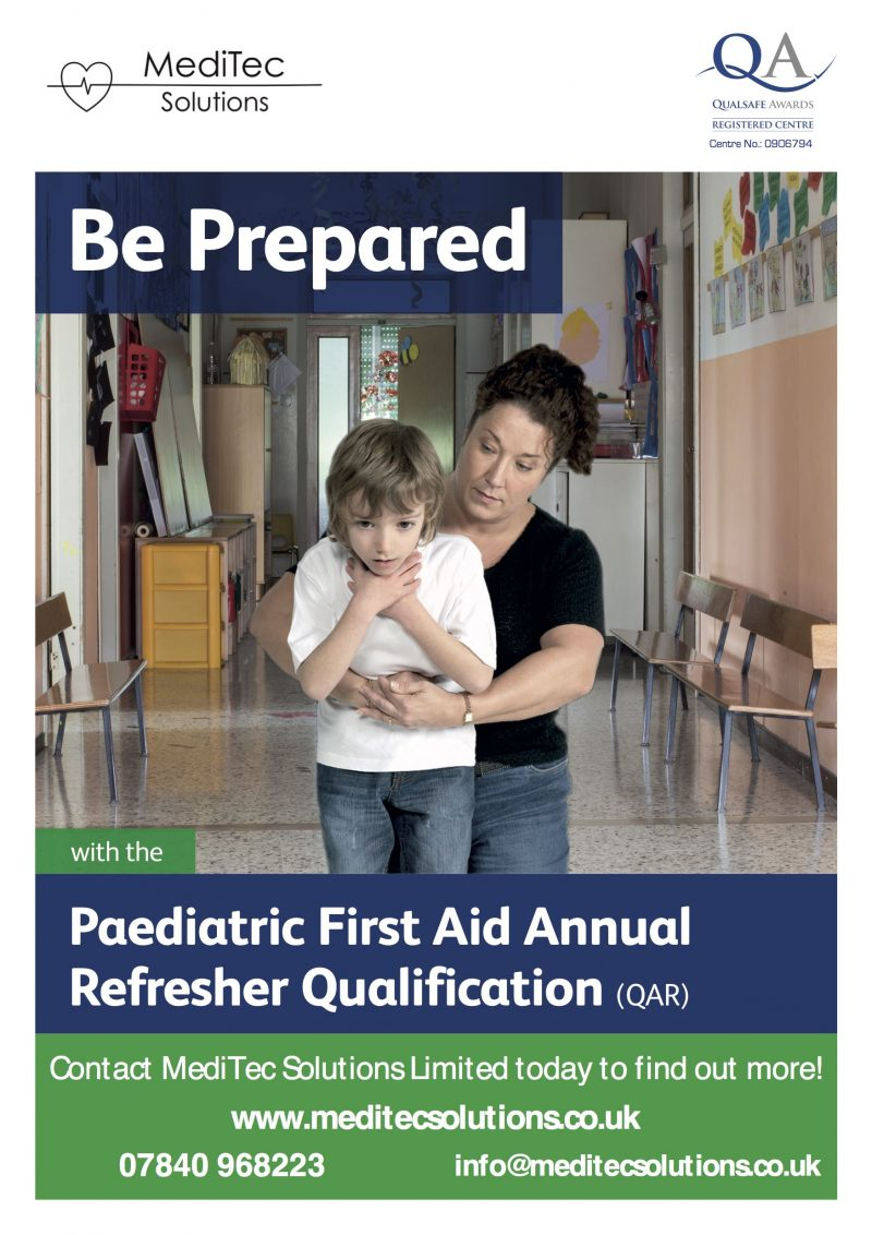 Paediatric First Aid Annual Refresher Training